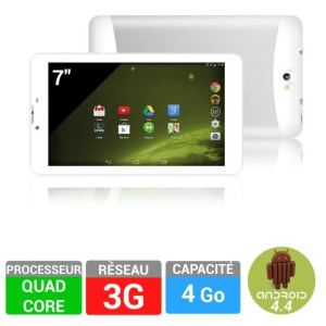 "Logicom L-IXIR Tab 701 3G - Tablette tactile 7"" 4Go sous Android 4.4 KitKat"
