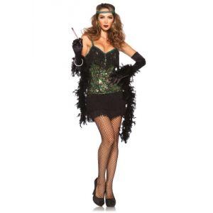 Déguisement charleston femme robe sequin