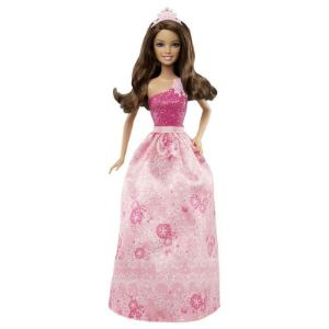 Mattel Barbie princesse moderne avec robe