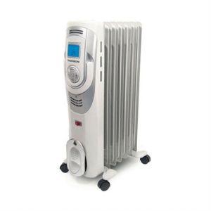 Thomson Thbdh7D - Radiateur à bain d'huile digital 1500 Watts