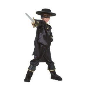César Déguisement Zorro (5-7 ans)