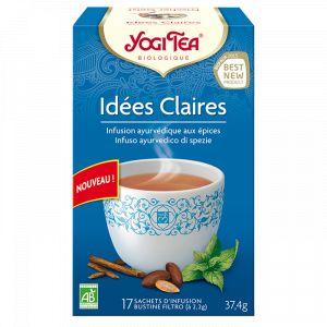 Yogi Tea Thé Idées Claires - Boîtes de 17 sachets