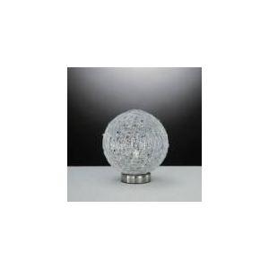 Lampe Emis en nickel, aluminium et cristal 16 cm