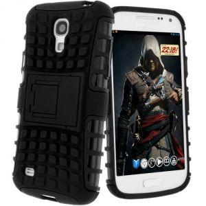 Avizar BACK-QUADRO-I9190 - Coque antichocs pour Samsung Galaxy S4 Mini I9190 et I9195