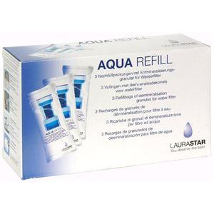LauraStar 302.7800.898 - Lot de 3 recharges de granulés de déminéralisation Aqua Refill pour filtre à eau