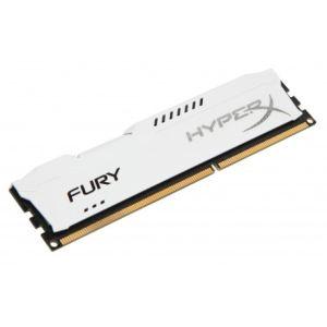 Kingston HX313C9F/4 - Barrette mémoire HyperX Fury 4 Go DDR3 1333 MHz CL9 DIMM 240 broches