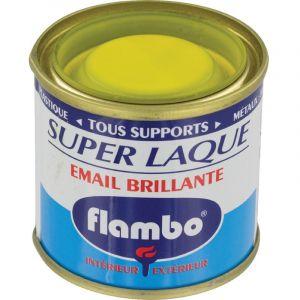 Flambo Laque brillante - 50 ml - Jaune canari