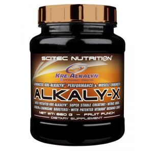 Scitec nutrition Alkaly-X - 660g limonade-framboise
