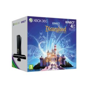 Microsoft Xbox 360 Slim 4 Go Pack Kinect Adventures + Disneyland Adventure
