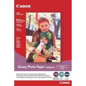 Canon 100 feuilles de papier photo brillant 170g/m² (10 x 15 cm)