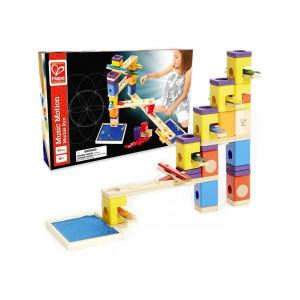Hape Circuit bille & toboggan Quadrilla : Music Motion
