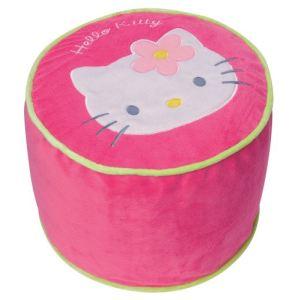 Fun House Pouf Hello Kitty gonflable en tissu