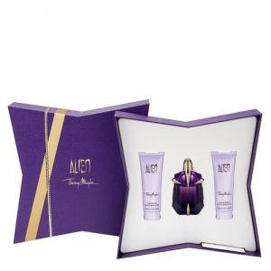 Thierry Mugler Alien - Coffret eau de parfum, voile d'éclat et douche éclat