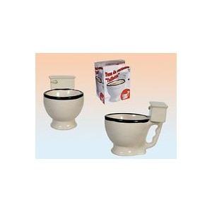 Blue Mug Toilette en céramique