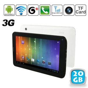 "Yonis Y-tt5g20 - Tablette tactile 7"" 3G sous Android 4 (4 Go interne + Micro SD 16 Go)"