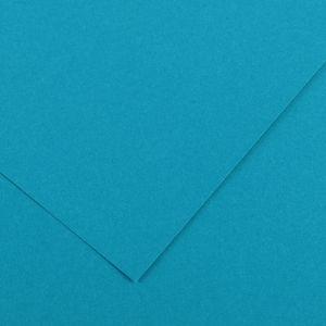 Canson 200040058 - Feuille Iris Vivaldi 50x65 120g/m², coloris bleu primaire 21