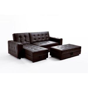 Canapé d'angle réversible Angus 3 places