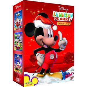 Coffret La Maison de Mickey - Volume 1 : A la rescousse du père Noël + Contes et surprises + Indices, surprises et friandises