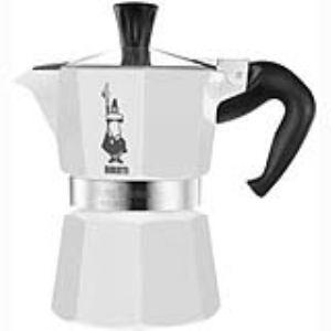 Bialetti Moka Express Black & White 6 tasses - Cafetière italienne