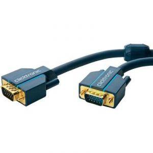 Clicktronic 70349 - Câble de connexion VGA 1 m