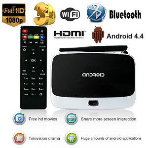 Yuntab S918 - Box Android 4.2 HD 1080P TV Wimo Télécommande IR
