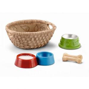 Schleich 42293 - Nourriture pour chiens et chats