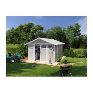 Grosfillex Utility 11 - Abri de jardin en PVC 10,60 m2