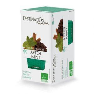 Destination Premium Tisane gourmande After Mint - Boîte de 20 sachets