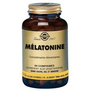 Solgar Mélatonine 1 mg 60 comprimés