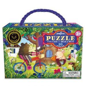 Ours à vélo - Puzzle 20 pièces
