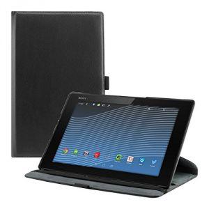 Kwmobile 18597 - Housse en cuir 360° Premium pour Sony Xperia Tablet Z2