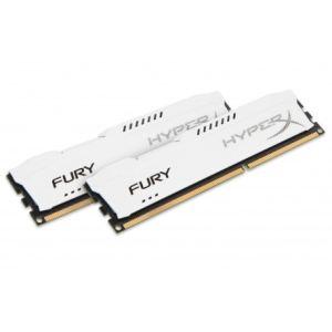 Image de Kingston HX318C10FK2/8 - Barrettes mémoire HyperX Fury 2 x 4 Go DDR3 1866 MHz CL10 DIMM 240 broches