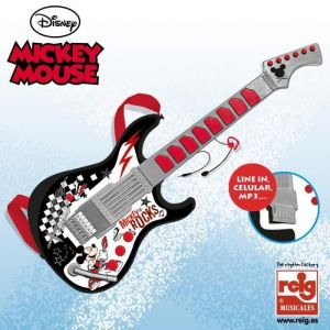 Reig Musicales Guitare avec micro Mickey Mouse