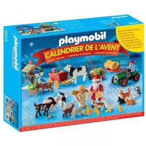 Playmobil 6624 - Calendrier de l'avent Noël à la ferme