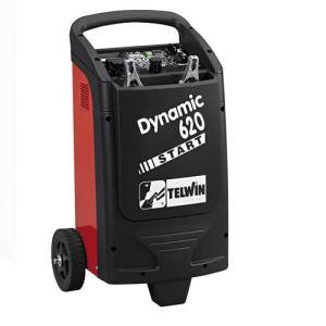 Telwin Dynamic 620 Start - Chargeur et démarreur de batterie sur roues (829384)