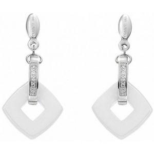 Cerruti R31406WZ - Boucles d'oreilles en céramique pour femme