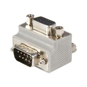 StarTech.com GC99MFRA2 - Adaptateur série Type 2 DB9 à angle droit / DB9 M/F