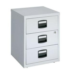 Otto Office Caisson Budget 3 tiroirs en métal