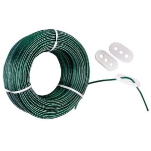Corde à linge avec tendeurs