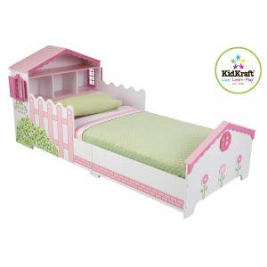 KidKraft 76255 - Lit maison de poupée pour fille 70 x 140 cm