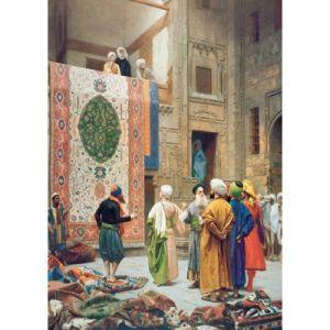 Ravensburger Jean-Léon Gérôme Le marchand de tapis - Puzzle 1000 pièces