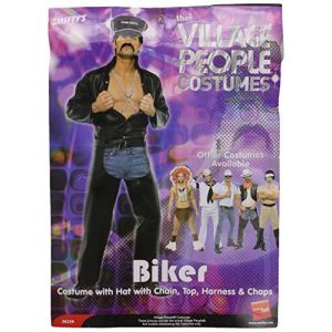 Costume Village People : Policier motard