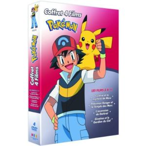 Coffret Pokémon - Les Films 8, 9, 10 et 11
