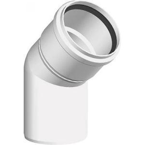 Ten 430580 - Coude à 45° PPS diamètre 80mm + joint silicone