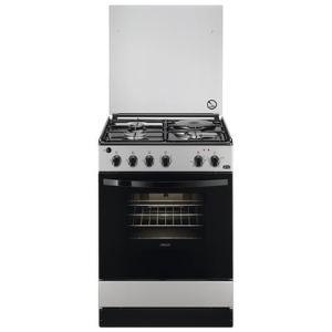 Faure FCM6401CSA - Cuisinière mixte 3 brûleurs gaz avec four électrique