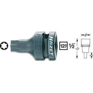 """Hazet 995S-T45 - Douille mâle à chocs (TORX) Carré creux 12,5 mm (1/2"""") Taille: T 45 L: 40 mm"""
