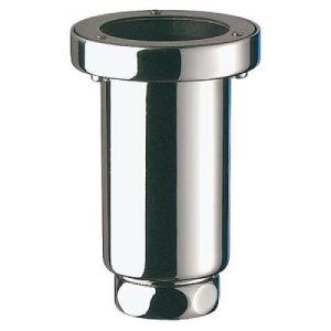 Delabie 771000 - Siphon d'urinoir vertical avec écrou garde d'eau avec joint à lèvres H115