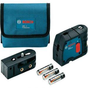 Bosch GPL 3 - Laser 3 points à mise à niveau automatique horizontale et verticale