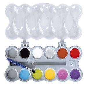 Ses Creative Maquillage : palette Aqua 10 couleurs Clowny tendance