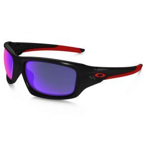 Oakley Valve Lunettes de soleil Polished Black Positive Red Iridium